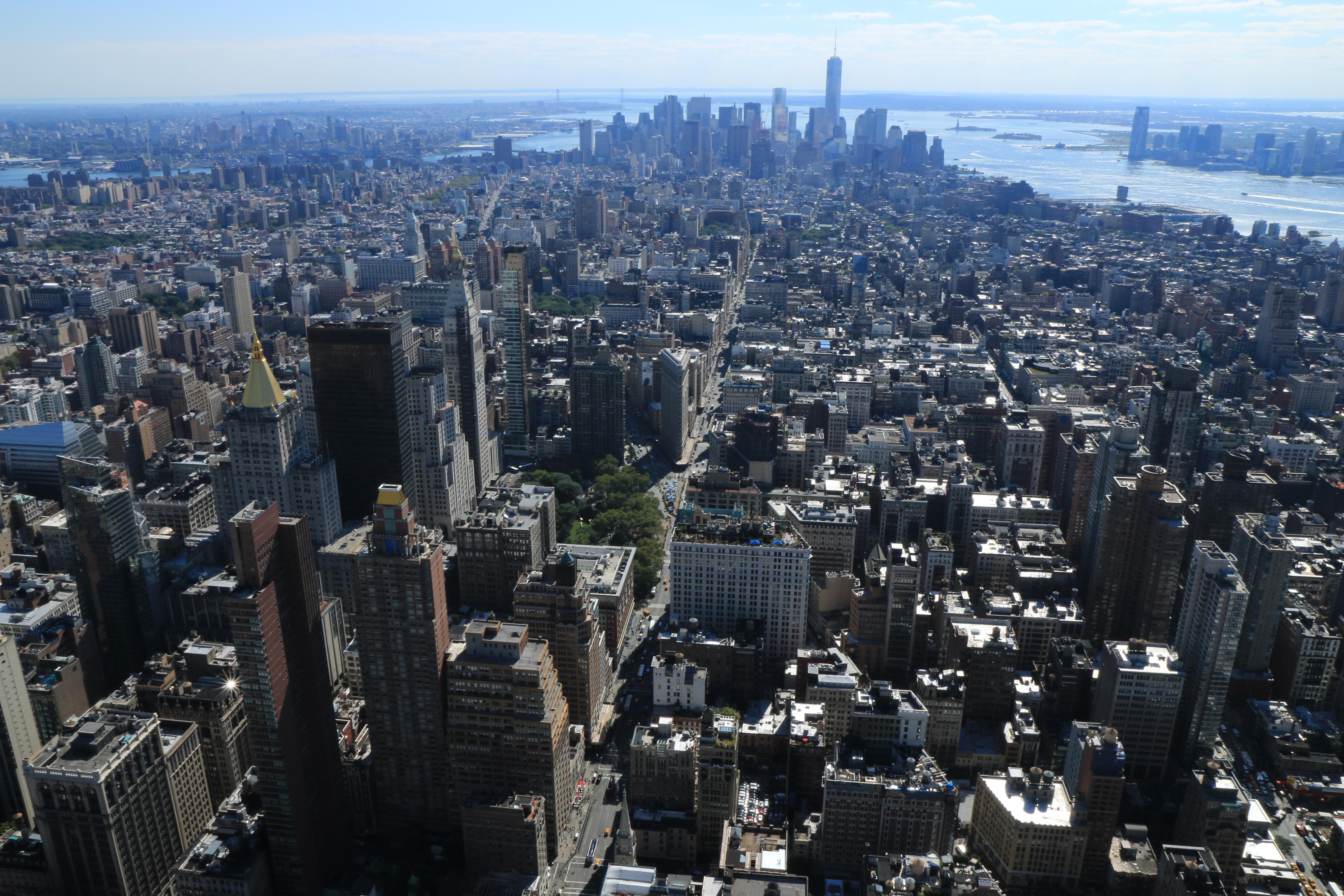 Usa giorno 3 new york dall 39 alto for New york dall alto