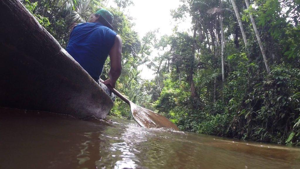Navigando a Pacaya-Samiria