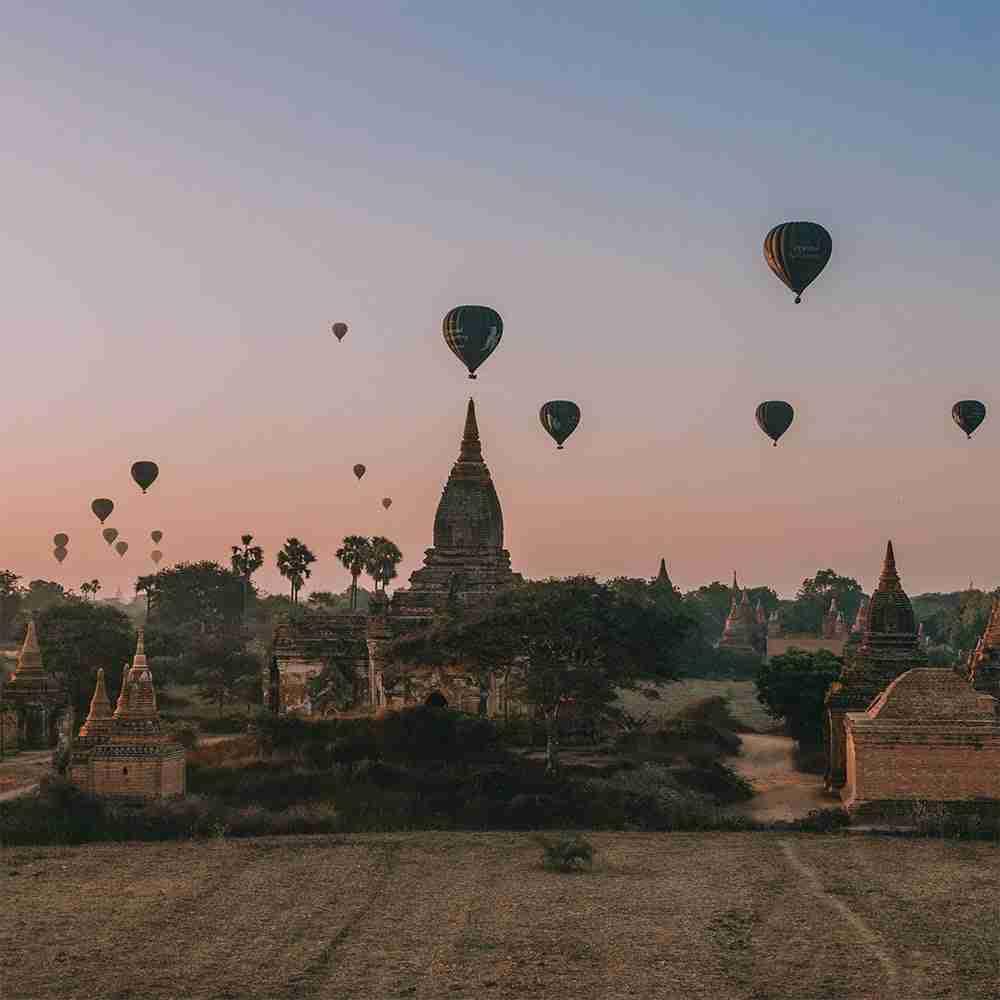Viaggio di gruppo in Myanmar