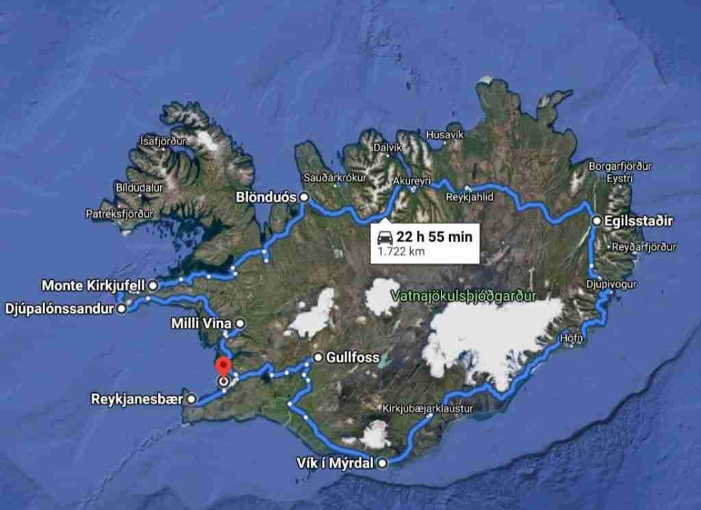 Islanda Ring Road