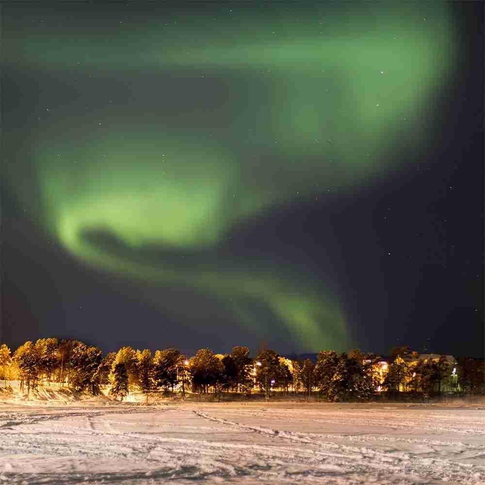 Lapponia svedese aurora