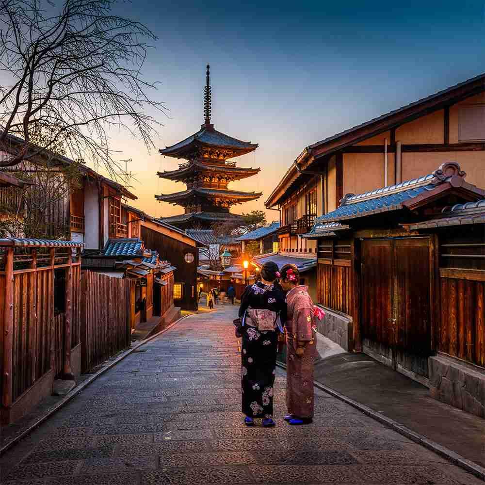 Kyoto, quartiere di Gion