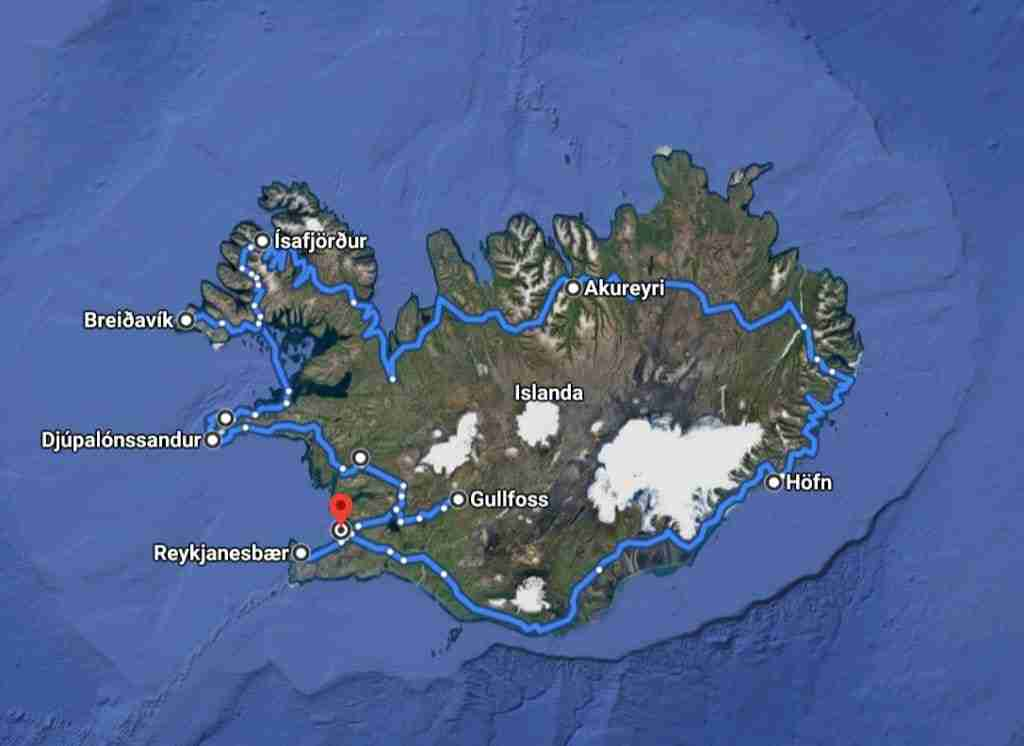 Islanda, giro completo e Westfjords