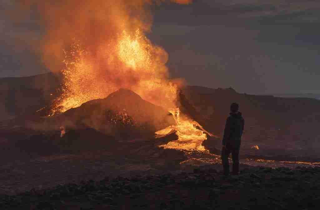 Il nuovo vulcano islandese
