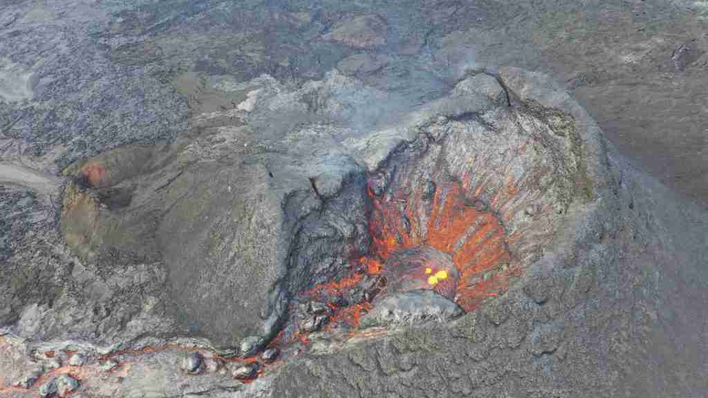Vulcano islandese Fagradalsfjall