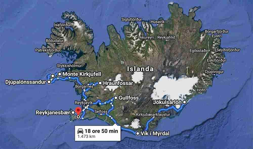 Itinerario Islanda invernale